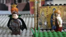 Emperor John II and Empress Irene mosaic