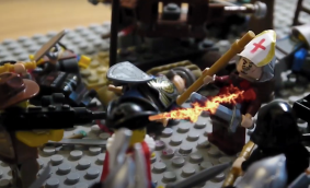 Death of Salviati in battle