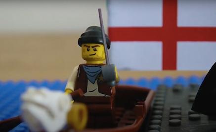 Ezio in his boat