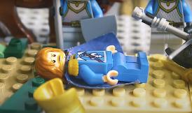 Death of King Louis IX in Lego, 1270