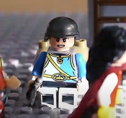 Drouet, drunk French soldier Lego figure