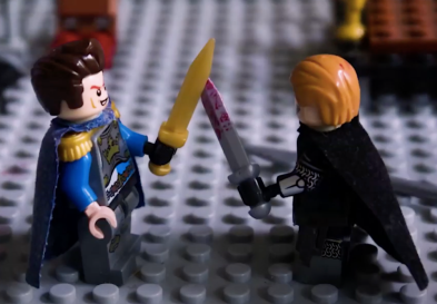 Andronikos and Charles of Anjou duel