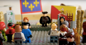 Dr. Giovanni's speech at the Lego Messina city square