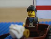 Dragon head in Ezio's boat