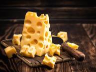 Holed cheese