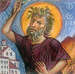 St. Symeon the Holy Fool (522-588)