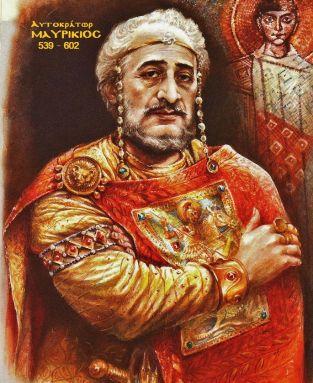 Byzantine emperor Maurice (r. 582-602)