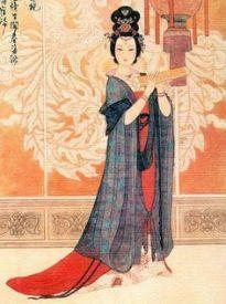 Tang empress Wu Zetian (r. 690-705)