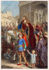 Frankish king Clovis I made consul by Anastasius I