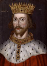 King Henry II Plantagenet of England (r. 1154-1189)