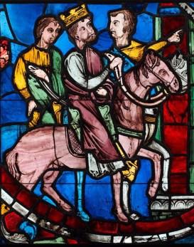 Theodosius II on his horse
