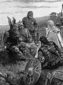 Ulfilas preaches Arian Christianity to the Goths, 4th century