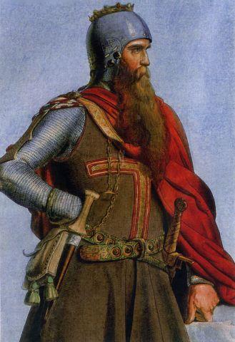 Holy Roman emperor Frederick I Barbarossa (r. 1155-1190)