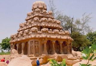 Dharmaraja Ratha Temple, Tamil Nadu, India built in the 7th century