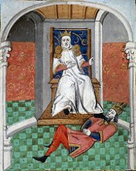 Romanos IV as prisoner of Alp Arslan, 1071