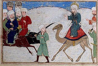 Muhammad flees from Mecca, 622