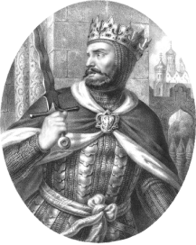 King Boleslaw I the Brave of Poland (r. 1025)