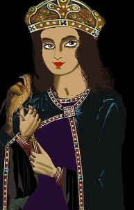 Yolande of Flanders, regent ruler of the Latin Empire (r. 1217-1219), wife of Peter and sister of Baldwin I and Henry