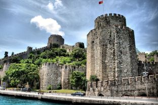 Rumeli Fortress, built by Mehmed II to blockade Constantinople