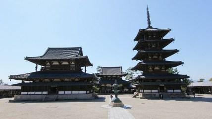 Horyu-ji Temple, Ikaruga, Japan, built in 607