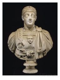 Emperor Valentinian III of the west (r. 425-455)