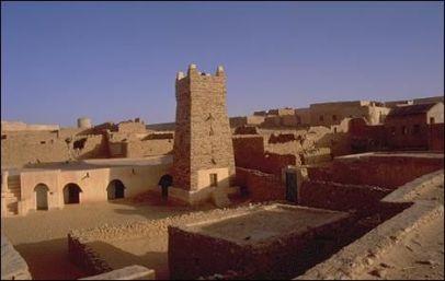 Koumbi Saleh, capital of the Ghana Empire, sacked by the Almoravids in 1076