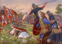 Romans against Franks at the Battle of Strasbourg, 357