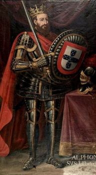 Afonso I Henriques, First King of Portugal (r. 1139-1185)