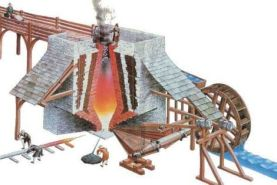 Blast Furnace, introduced to Sweden in 1150