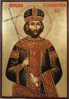 Constantine XI Dragases Palaiologos, the last Byzantine emperor (r. 1449-1453)