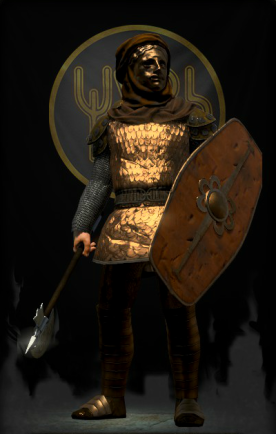 Himyarite warrior