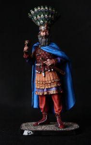 Emperor Heraclius in battle gear