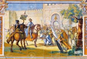 Alfonso VI of Leon's conquest of Toledo from the Moors, 1085