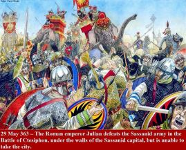 Battle of Ctesiphon, Romans vs Sassanids, 363