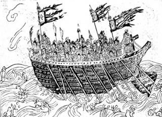 12th century Song navy ship sample
