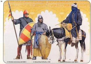Almoravid soldiers in Spain