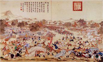 Battle of Canhe Slope, 395