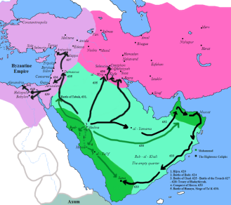 Muhammad's conquests of Arabia