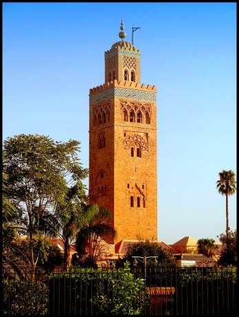 Koutoubia Mosque, Morocco, built by the Almohads, 12th century