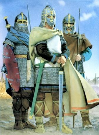 Saxons of 6th century Britain