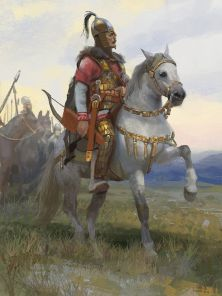 Dengizich, ruler of the Hunnic Empire, son of Attila (r. 453-469)