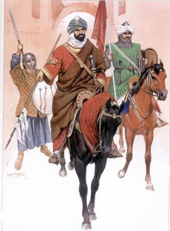 Almohad Moorish soldiers
