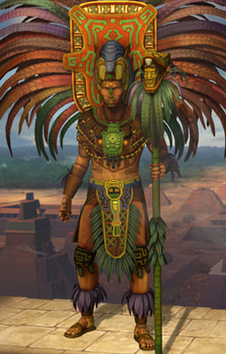 Pakal the Great, Mayan king of Palenque (r. 615-683)
