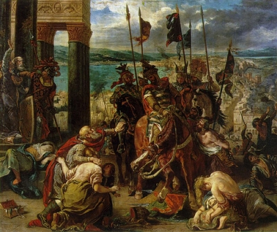 Baldwin IX of Flanders and the aftermath of the Sack of Constantinople, 1204