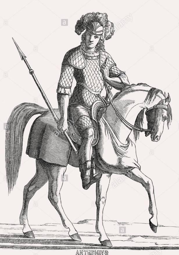 Anthemius, Western Roman emperor (r. 467-472)