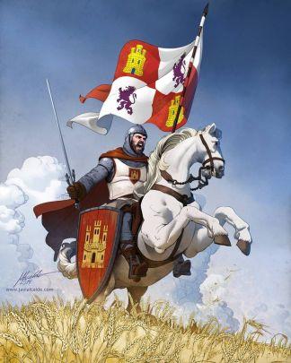 """Rodrigo Diaz de Vivar """"El Cid Campeador"""" (1043-1099)"""