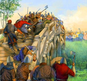 Anglo-Saxons defeat Harald Hardrada and the Norwegians at the Battle of Stamford Bridge, 1066