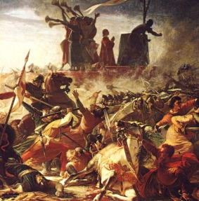 Frederick I loses to the Lombard League at the Battle of Legano in Italy, 1176