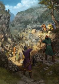 Defeat of the Byzantines to the Seljuks at Myriokephalon, 1176