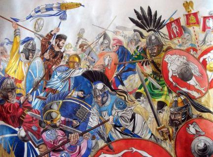 Battle of the Frigidus, Theodosius vs Eugenius, 394